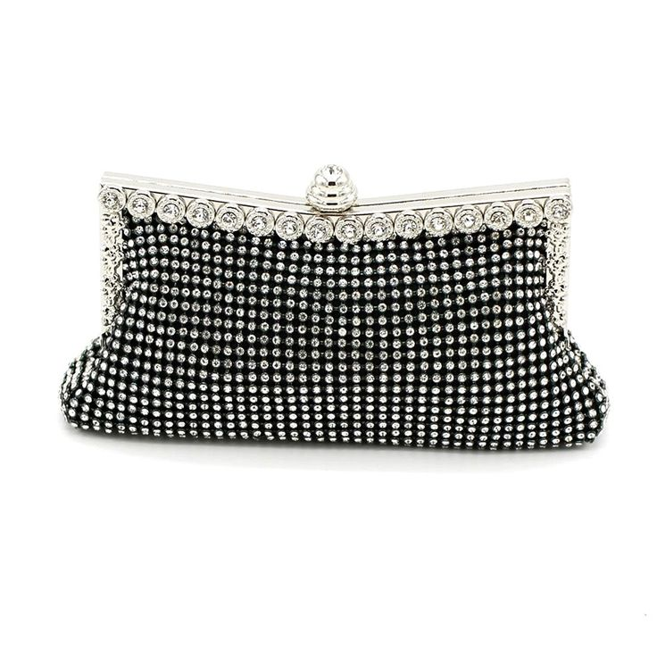 Kingluck the Rhinestone Diamond Wedding Special Occasion Evening Handbags/clutchs >>> More info could be found at the image url.