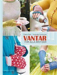 Årets första stickade par vantar heter Ester med lekande katter och garnnystan, mönster hittar man i boken Vantar för alla årstider, jag ka...
