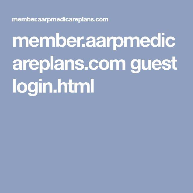 aarpmedicareplans login
