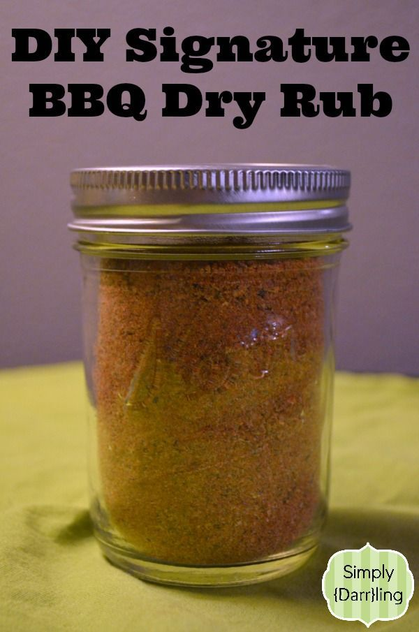 Create A Signature Bbq Dry Rub - Perfect gift for the 'chef' or expert Barbecue guru!
