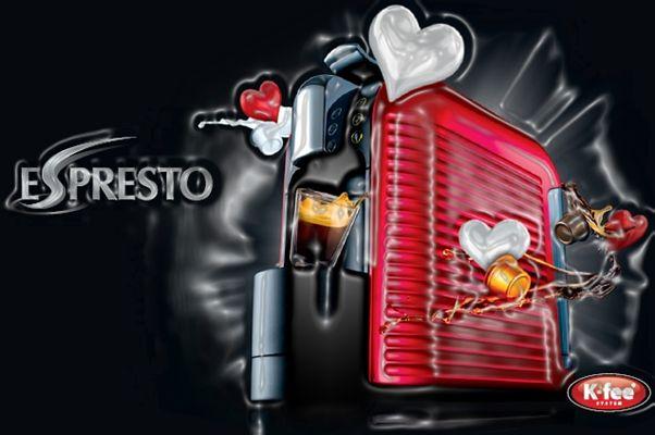 Red #EsprestoSA #Wave for #ValentinesDay.