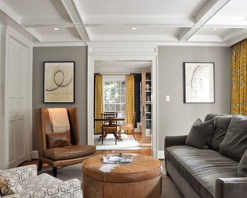 27 best images about living room color scheme on pinterest - Gray walls brown furniture living room ...