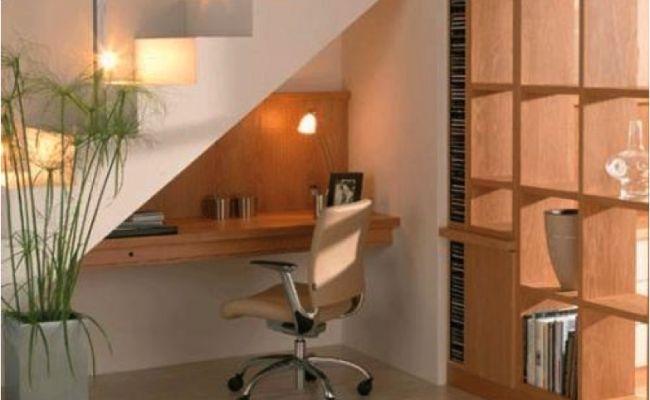 Bureau sous escalier maison pinterest bureaus - Bureau sous escalier ...