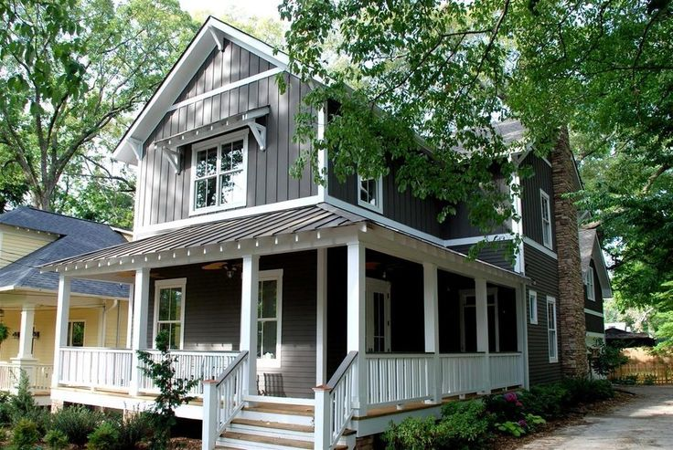 Horizontal And Vertical Siding Exterior Craftsman With