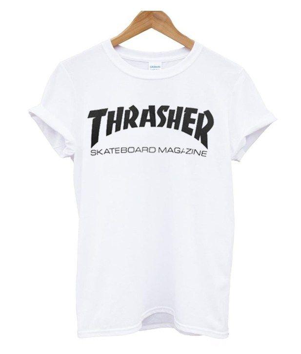 b1749ff2a371 Thrasher Skateboard Magazine T-Shirt Size S