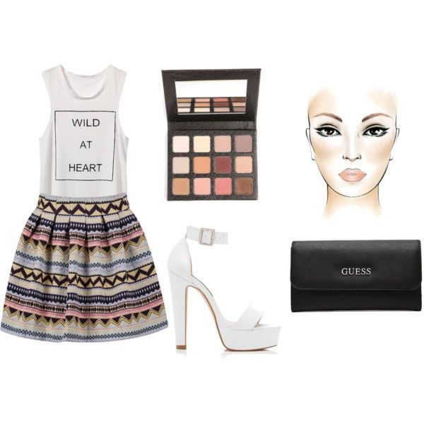 Sin título #33 by belendemi on Polyvore featuring moda, Forever New and GUESS