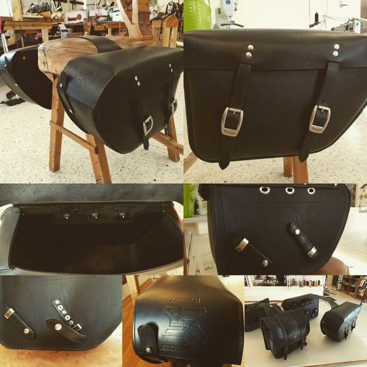 Saddlebags for an Triumph