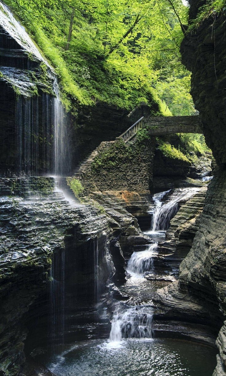 Waterfall and hidden pool.  #photography