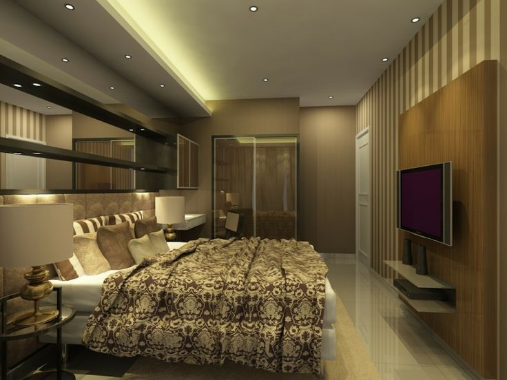 Bedroom ceiling soffit and general style