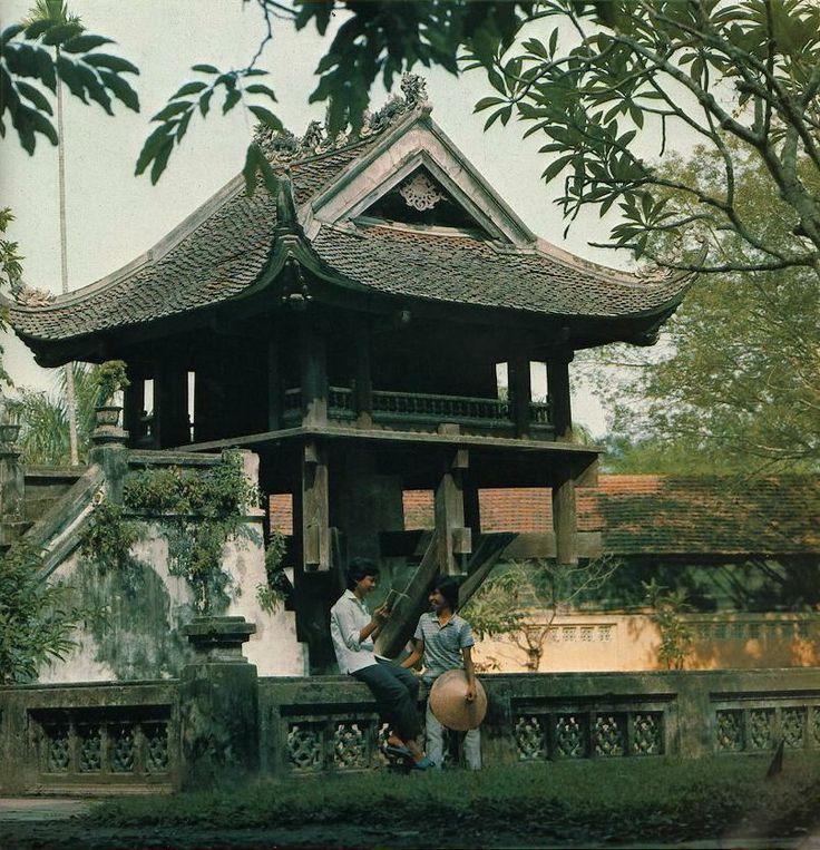 mot cot pagoda, Ha Noi