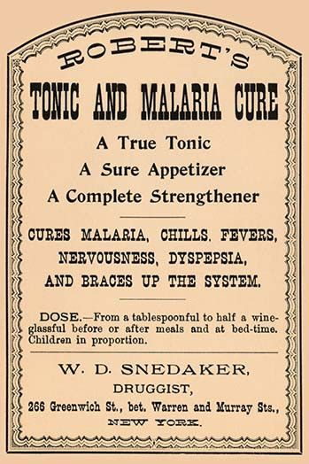 Robert's Tonic and Malaria Cure