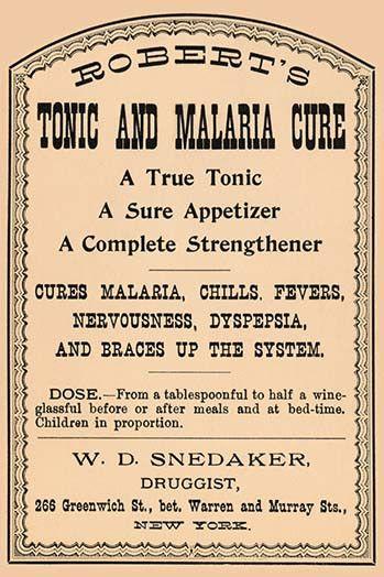 Robert's Tonic and Malaria Cure