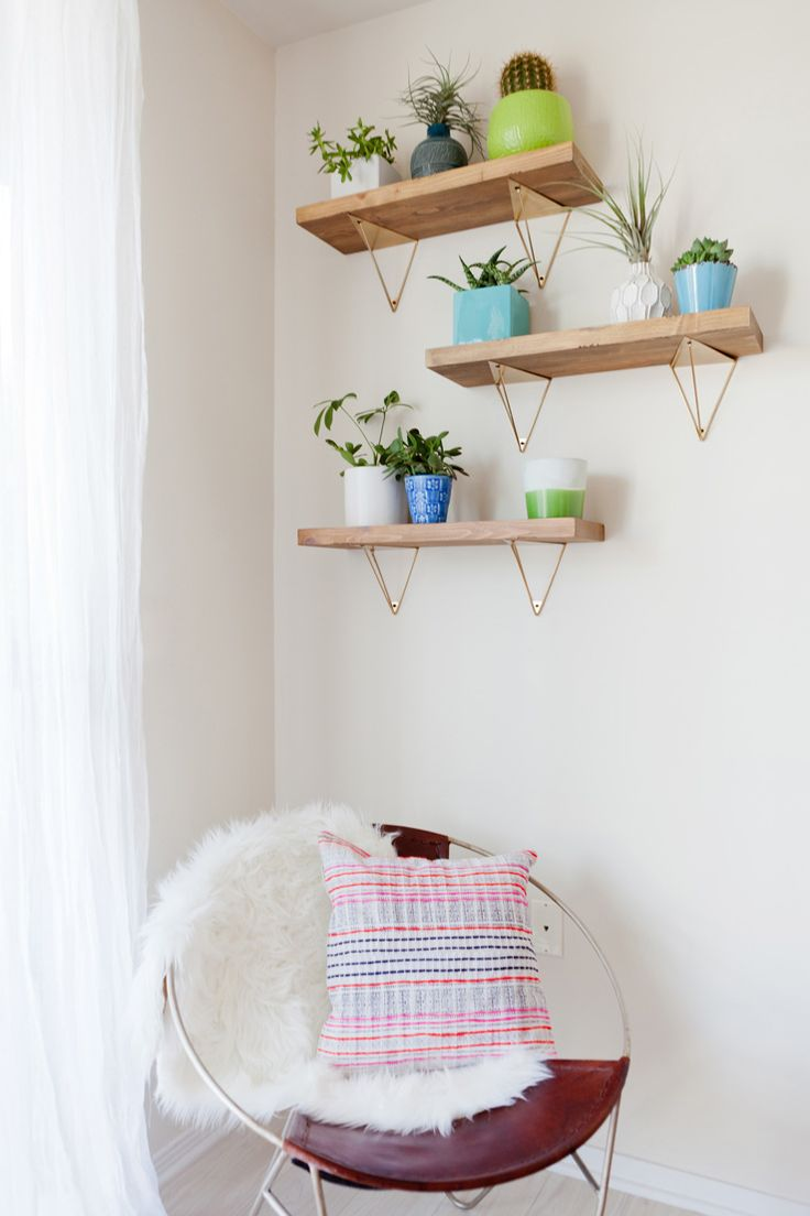 before after gaby office west elm shelving