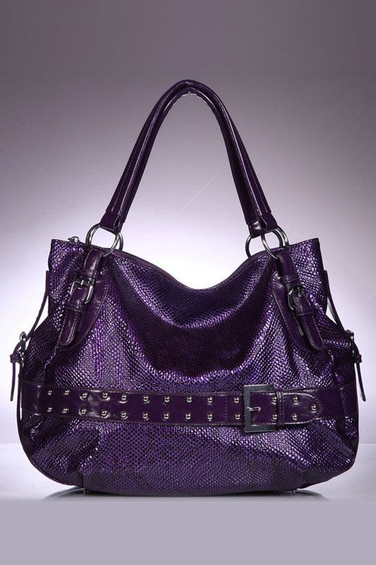Always on the hunt for my next purple purse.