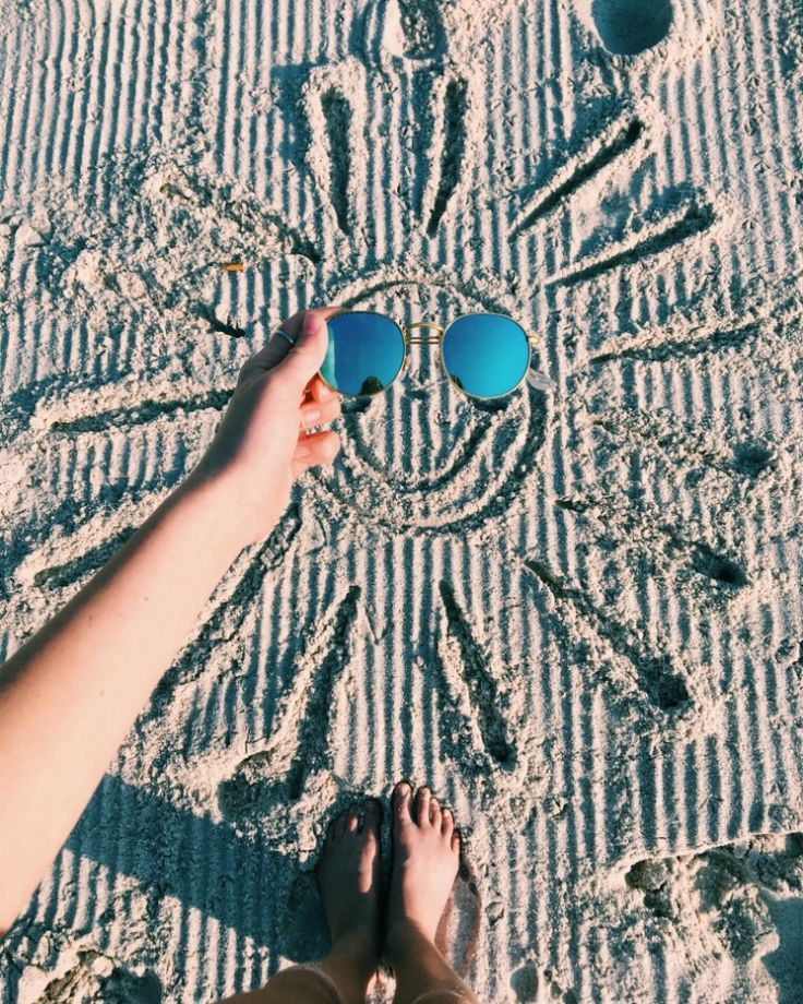 Strandfoto Idee #Reisebilder #Sommerfun #Delightfulday – Marie Mode
