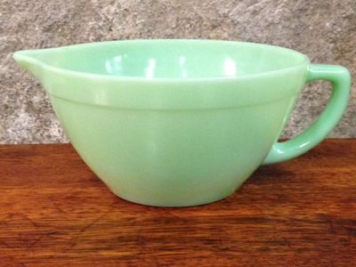 Fire King Jadeite mixing bowl - I got this for a steal at an estate sale! Under $10!