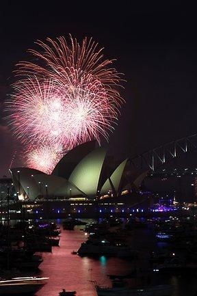 Sydney New Year 2012