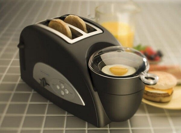 Toaster and Egg Maker Combo. Egg muffins simplified.
