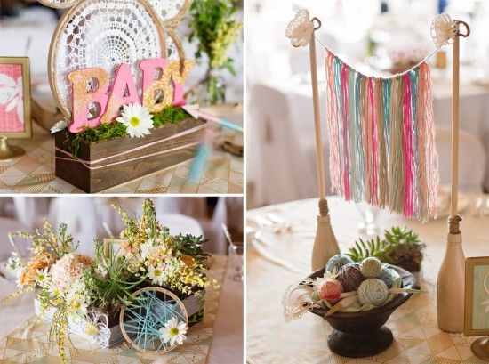 Paper and Cake | Bohemian Baby Shower: Operation Shower | http://www.paperandcake.com