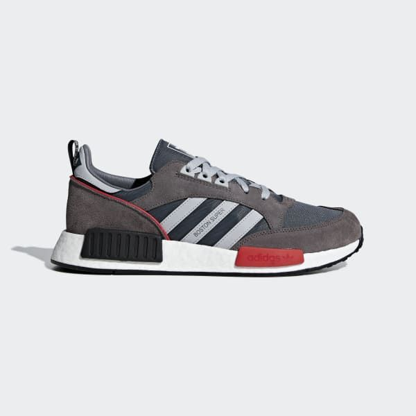 a lo largo embotellamiento peor  adidas Boston SuperxR1 Shoes - Grey | adidas US | Adidas, Suede design,  Grey adidas