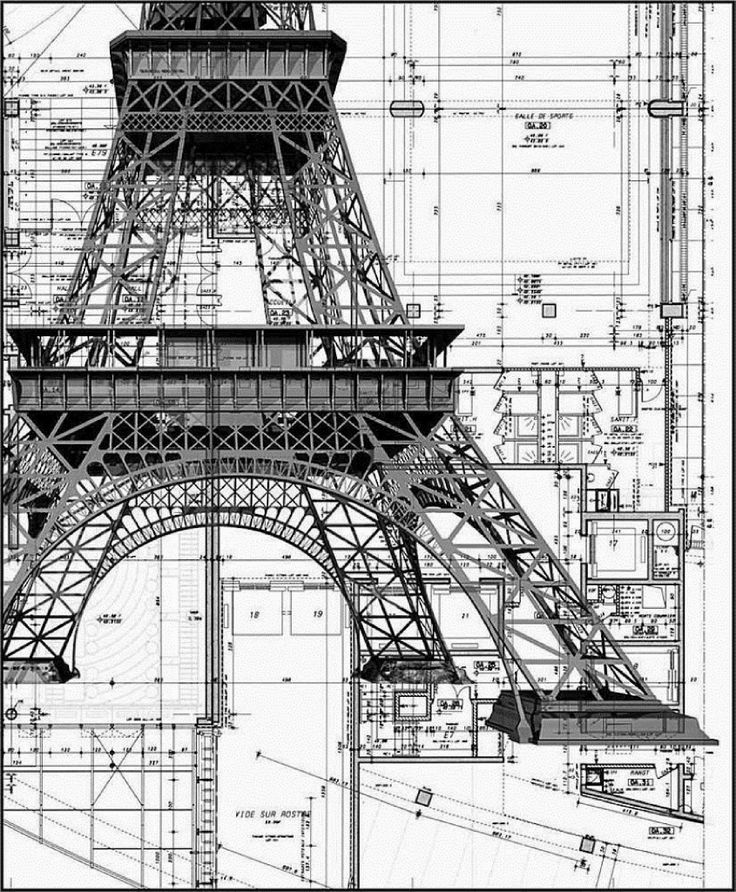 Eiffel Tower - Construction details