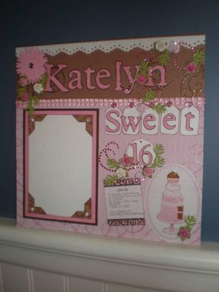 HAPPY SWEET 16 KATELYN! by coffeestamper - Cards and Paper Crafts at Splitcoaststampers