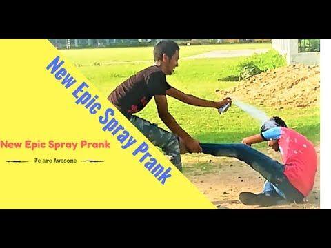 Funny Spray prank Video || Funniest Prank Videos 2017 || Funny Prank Vid...
