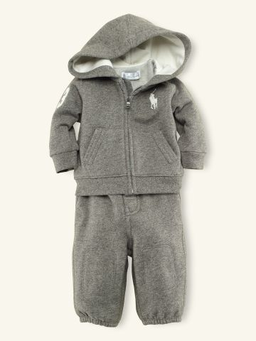 Hooded Fleece & Pant Set - Layette Outfits & Gift Sets - RalphLauren.com