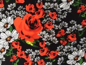 Maglina fantasia fiori
