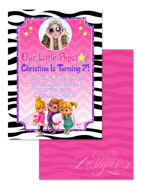 123 best Children Birthday Party Invitation Designs images on ...