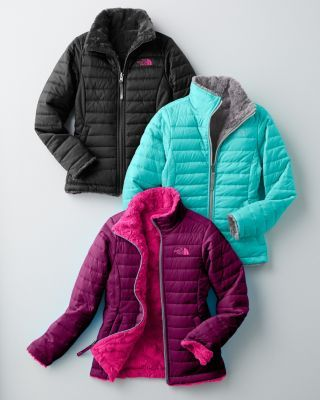 Definitely for my Lauren!  Girls' Reversible Mossbud Swirl Jacket by The North Face® - Girls