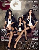 [HQ] Mallika Haydon, Nathalia Kaur and Angelo Jonsson GQ Magazine -June 2012 Pictures.   Bollywood C...