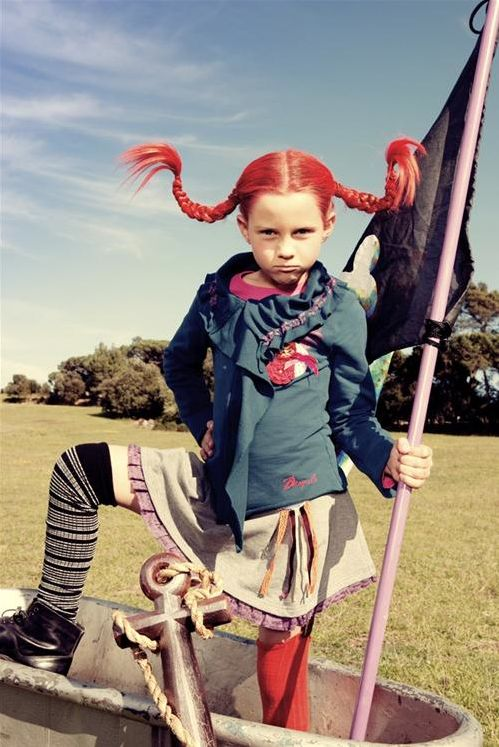 Pippi Longstocking costume for Gigi this year. I remember her mother dressing up like her too!!!