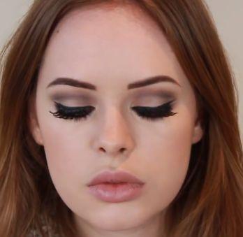 Tanya Burr: Lana Del Rey Modern 60's Makeup (love!!)