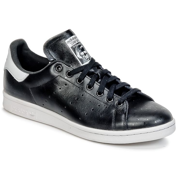 Stan Smith Noir Verni