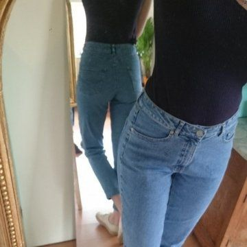 Vintage high waisted jeans op United Wardrobe