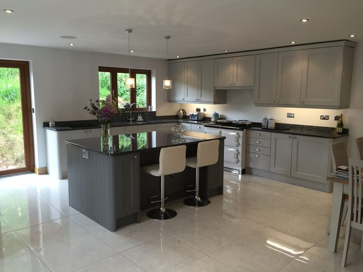 Masterclass New Ashborne Light Grey Kitchen Design company Bishop Sutton