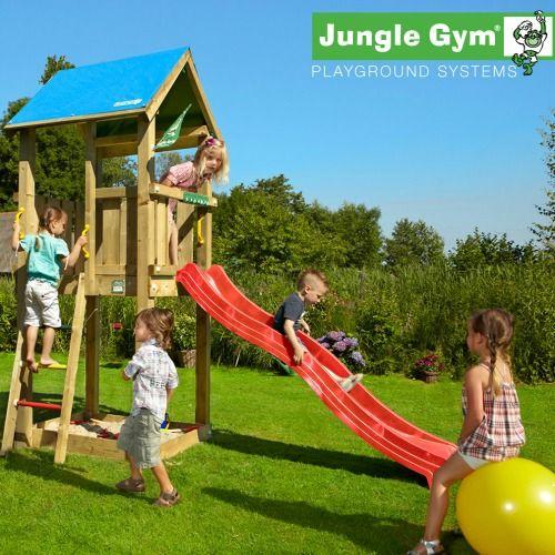Jungle Gym Castle - Wooden Climbing Frames for Children