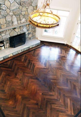 1000 Ideas About Herringbone Wood Floor On Pinterest