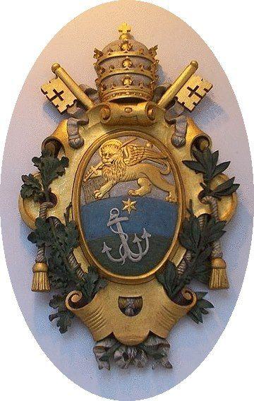 Brasão de Armas do Papa Santo Pio X (Vaticano)
