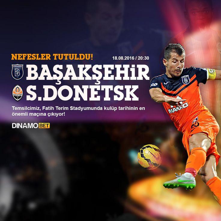 Tarihinde ilk defa Avrupa Ligi gruplarına katılabilme şansı yakalayan Başakşehir, güçlü rakibi Shaktar Donetsk karşısında sürpriz arayacak! EN YÜKSEK ORANLAR DİNAMOBET'TE... https://www.dinamobet4.com/tr/sports#/