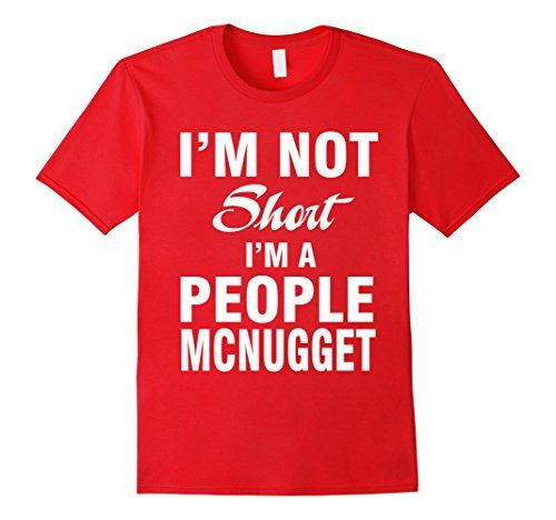 Men's People Mcnugget T-Shirt 3XL Red That Funny Shirt