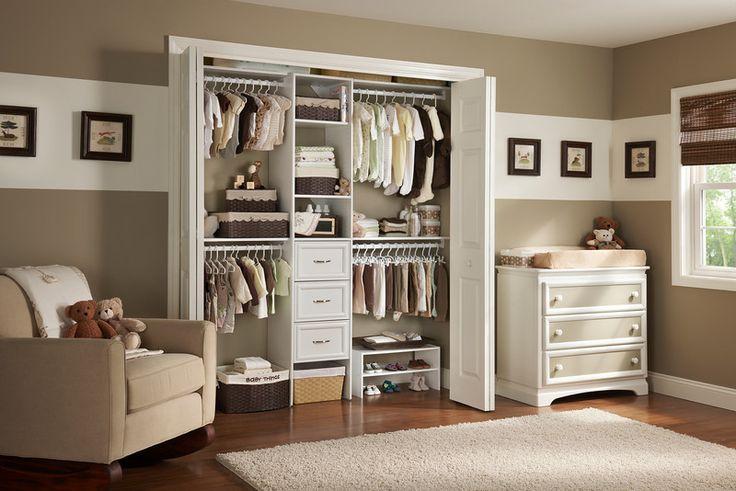 nursery closet organizer | ClosetMaid Blog Organize for Baby