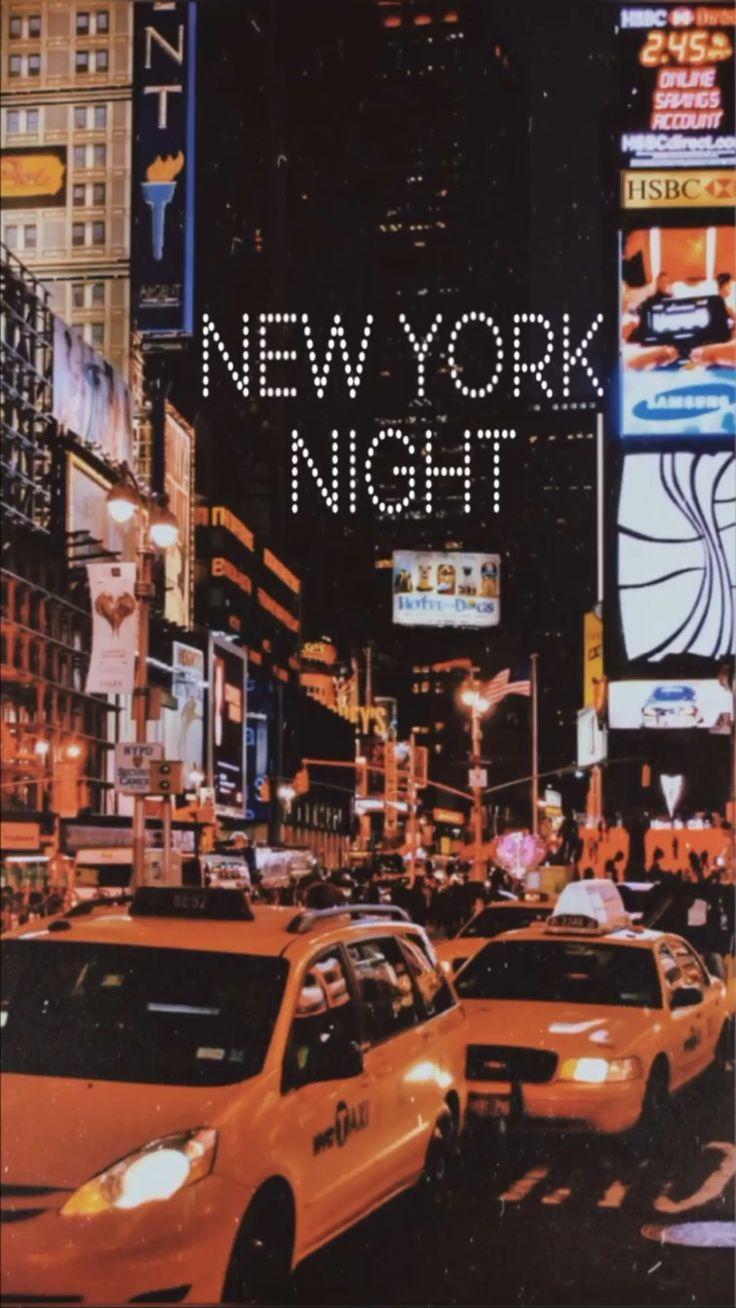 Usa Aesthetic Vintage Usa Aesthetic In 2020 New York Travel New York Night New York Wallpaper