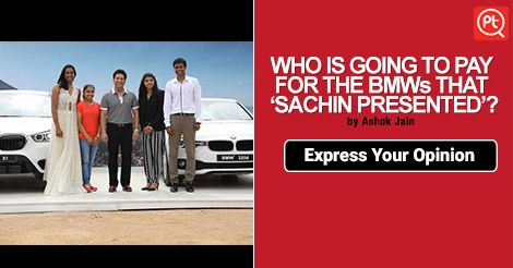 Do you think Sachin Tendulkar deserved it? #ExpressYourOpinion #Posticker
