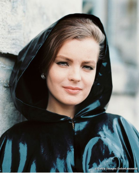 Romy Schneider et son style unique - photo