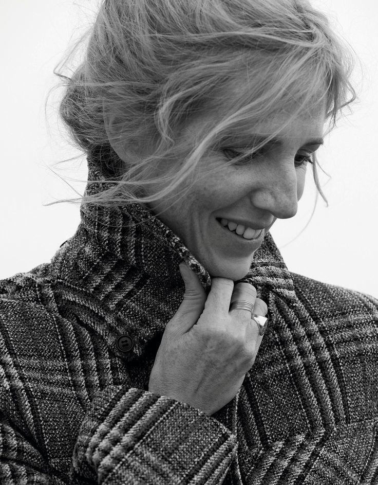 """Sandrine Kiberlain : """"Je me suis réveillée grâce aux films et aux hommes """"   Le Figaro Madame"""