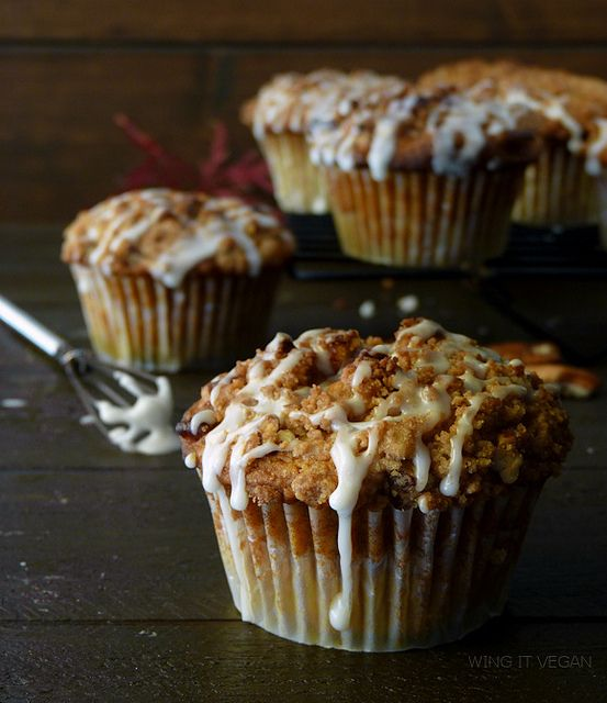 Pumpkin Streusel Coffee Cake Muffins