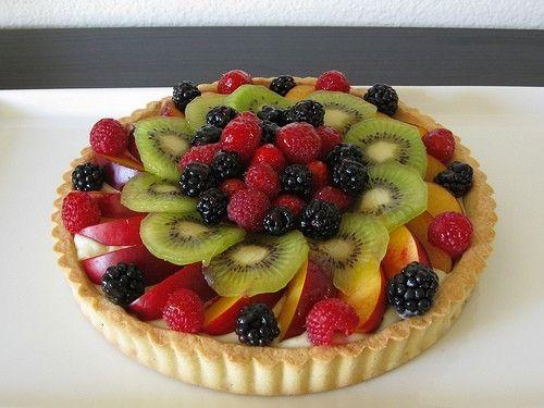 Fresh Fruit Tart by norna