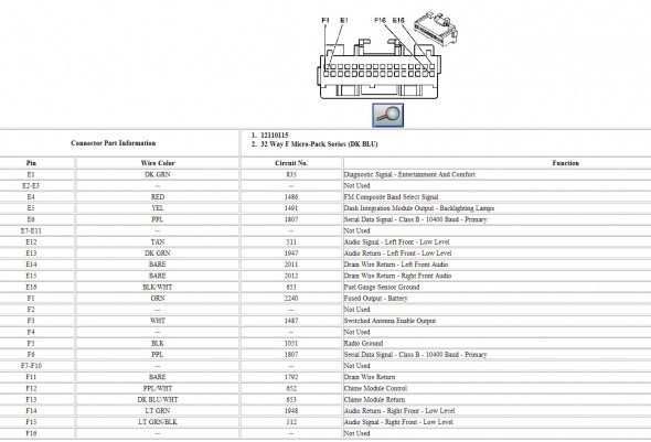 2007 Cadillac Escalade Wiring Diagram